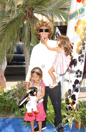 Rob Machado and Daughters