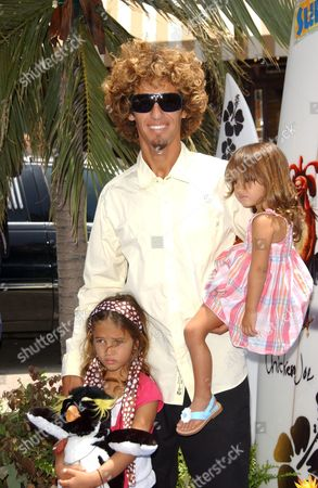 Rob Machado and Daughters