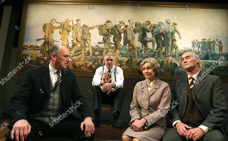 Stock Picture of Tim Woodward (Todd), Matthew Kelly (Harris), Belinda Lang (Kitty) and Rupert Frazer