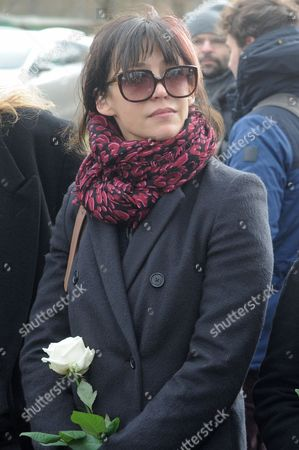 Sophie Marceau French actress Sophie Marceau attends the funeral of her former long-time partner, Polish film director Andrzej Zulawski, in Gora Kalwaria, Poland