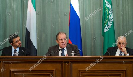Editorial photo of Russia Arab Forum, Moscow, Russia