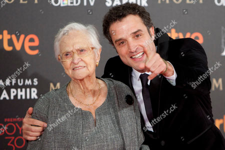 Daniel Guzman Spanish director Daniel Guzman and his gran mother poses for photographers before the Goya Film Awards Ceremony in Madrid, Spain, . The Goya Awards are Spain's main national annual film awards