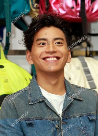 Darren Wang Taiwanese actor Darren Wang smiles during a promotional event in Taipei, Taiwan
