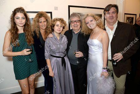 Bill Wyman and Suzanne Wyman with family