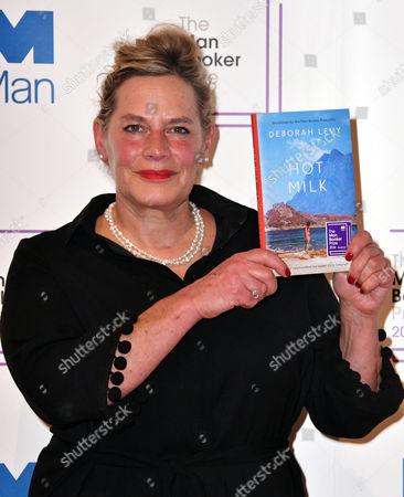 Deborah Levy, with her book 'Hot Milk'