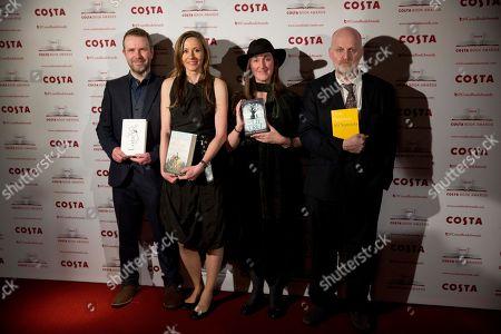 Editorial photo of Britain Costa Book Awards, London, United Kingdom