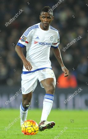 Chelsea's Ramires during the English Premier League soccer match between Leicester City and Chelsea at the King Power Stadium in Leicester, England