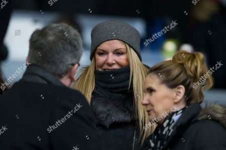 Ulla Sandrock Ulla Sandrock, wife of Liverpool's manager Jurgen Klopp is seen in the stands before the English Premier League soccer match between Liverpool and Manchester United at Anfield Stadium, Liverpool, England
