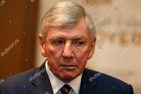 Martin Peters Martin Peters, one of four members of the England 1966 World Cup winning side, talks to the media at the Royal garden Hotel in London