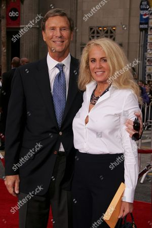 Bob Einstein and wife