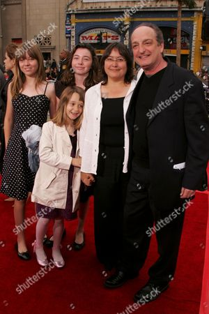 David Paymer and family