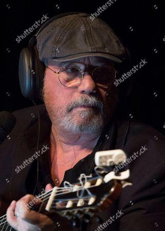 "Cuban singer and composer Silvio Rodriguez records his latest album ""Amorios"" in Havana, Cuba, late"