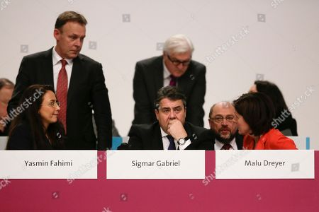 Editorial picture of Germany Social Democrats Party Convention, Berlin, Germany