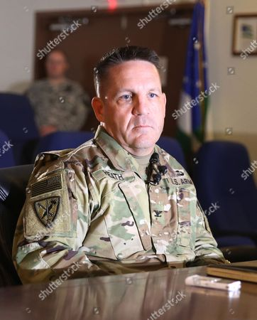 David Heath Army Col. David Heath, commander of the Guard Force at the Detention Center at the U.S. Base at Guantanamo Bay, Cuba, speaks to reporters following a media tour of the facility