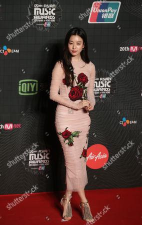 Han Hyo-joo South Korean actress Han Hyo-joo poses for the photographers on the red carpet of the 2015 Mnet Asian Music Awards (MAMA) in Hong Kong