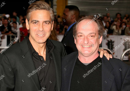 George Clooney and David Paymer