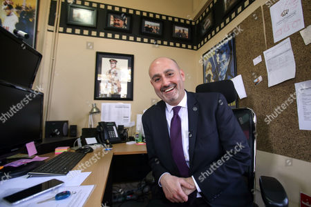 "George David George David, general manager of the Royal Film Commission, speaks during an interview with The Associated Press, in Amman, Jordan. Providing locations and crew for foreign films remains an important part of Jordan's film work, said David. ""Theeb"" (Wolf), set in 1916, a coming-of-age drama set among Bedouin tribesmen roaming the desert emerged as the first Oscar contender produced by Jordan's nascent film industry"