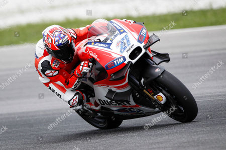 Casey Stoner MotoGP rider Casey Stoner of Australia steers his Ducati out of a corner during a pre-season test at Sepang International Circuit in Sepang, Malaysia