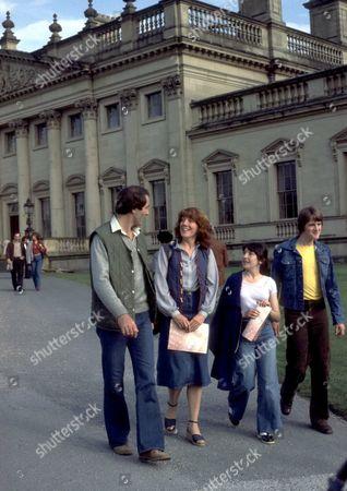 'Emmerdale'  TV - 1980 Andrew Burt at Harewood House
