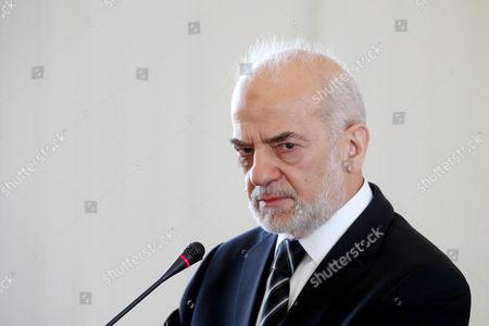Ibrahim al-Jafari Iraqi Foreign Minister Ibrahim al-Jafari speaks during a press conference with his Iranian counterpart Mohammad Javad Zarif, in Tehran, Iran