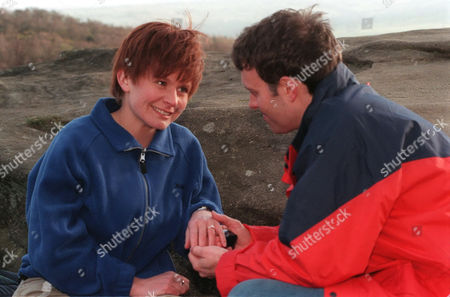 'Emmerdale'  TV - 1999 - Graham (KEVIN PALLISTER) takes Rachel (GLENDA McKAY) on a picnic to propose to her, but things don't go quite according to plan.