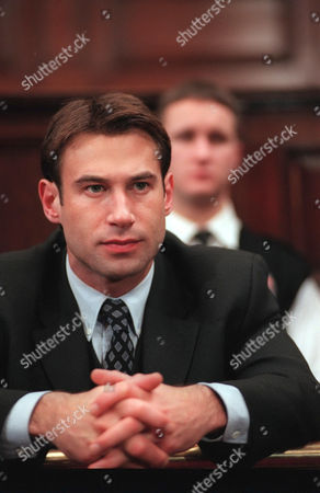 'Emmerdale'  TV - 1999 - Steve [Paul Opacic] pleads guilty to two charges but not guilty to the attempted murder of Kathy.