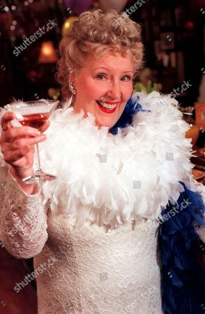'Emmerdale'  TV - 1999 - 'Hollywood Night' at The Woolpack - Betty [Paula Tilbrook] as Ginger Rogers.