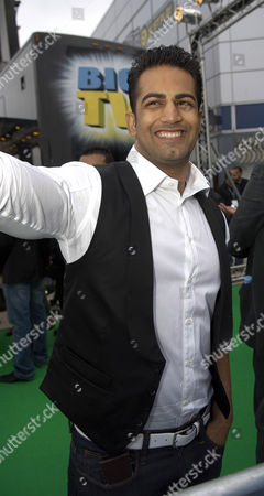 Stock Photo of Upen Patel at the film world premiere of 'The Train' at Cineworld Castleford