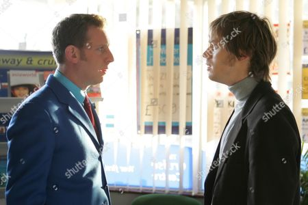 Paul Thornley and Finlay Robertson in 'Life Begins' - 2006