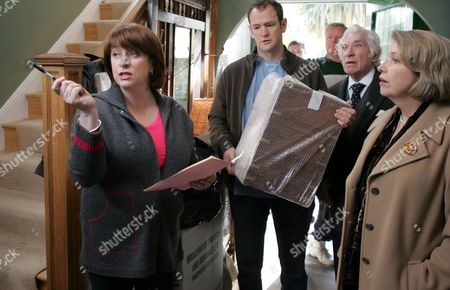 Caroline Quentin, Alexander Armstrong, Frank Finlay and Anne Reid in 'Life Begins' - 2006