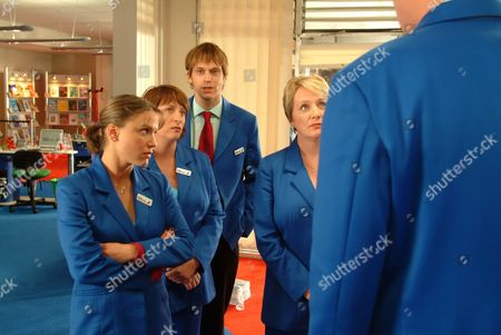 'Life Begins' - 2006 L-R - Chloe Howman, Caroline Quentin, Finlay Robertson and Michelle Holmes.