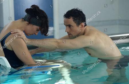 Daniela Nardini and Ben Miles in 'Rough Treatment' - 2000