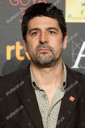 Cesc Gay Spanish director Cesc Gay poses for photographers before the diner of nominees to Goya Awards 2016 in Madrid, Spain, on