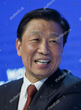 Chinese Vice President Li Yuanchao speaks at a special session at the World Economic Forum in Davos, Switzerland, . World leaders are holding a flurry of diplomatic meetings at the World Economic Forum and worried CEOs are debating about how to deal with this year's volatile markets and low oil prices