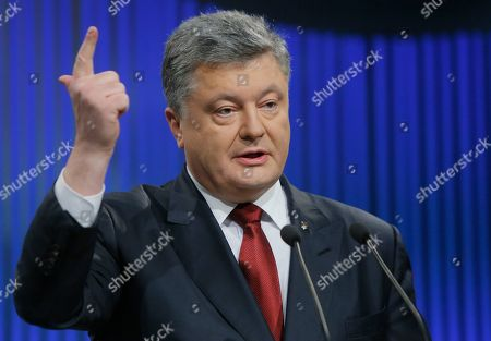 Petro Poroshenko Ukrainian President Petro Poroshenko gestures while speaking during his annual news conference in Kiev, Ukraine, . Poroshenko's comments come a day after negotiators in the Belarusian capital Minsk agreed to make new efforts to enforce the shaky cease-fire. For the talks, Russia sent its new envoy, former parliamentary speaker Boris Gryzlov, who made a rare visit to Kiev earlier this week