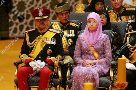 Prinz Haji Al - Muhtadee Billah Frau and Princess Anak Sarah