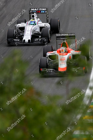 Editorial photo of Brazil F1 GP Auto Racing, Sao Paulo, Brazil