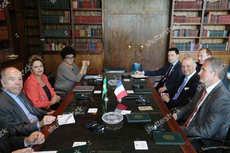 Editorial picture of Brazil France, Brasilia, Brazil