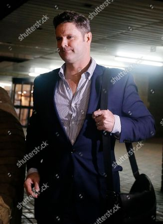 Stock Picture of Former New Zealand cricketer Chris Cairns leaves Southwark Crown Court in London, . Cairns must wait until Monday at the earliest to learn the result of his perjury trial after jurors failed to reach a verdict following a second day of deliberations. The 45-year-old is accused of lying during a libel action against Indian Premier League founder Lalit Modi, and is facing charges of perjury and perverting the course of justice