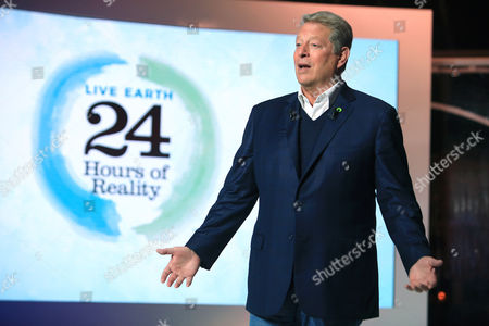 Former U.S. Vice President Al Gore hosts a 24-hour live webcast from the foot of the Eiffel Tower, in Paris, . Gore, who helped negotiate the 1997 climate treaty that failed to control global warming, will host the round-the-clock event that includes musical performances by Elton John, Duran Duran and others. Other concerts will be broadcast from locations around the globe, from Rio de Janeiro to Miami, Sydney and Cape Town