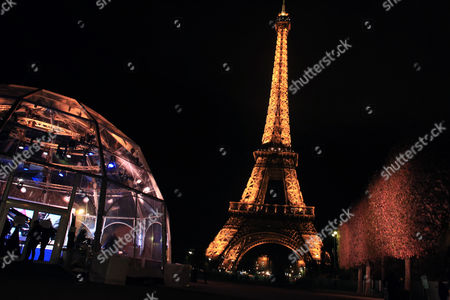 A studio is set up near to the Eiffel Tower for a 24-hour live webcast to drum up attention for this month's international climate summit, in Paris, . Former U.S. Vice President Al Gore, who helped negotiate the 1997 climate treaty that failed to control global warming, will host the round-the-clock event that includes musical performances by Elton John, Duran Duran and others. Other concerts will be broadcast from locations around the globe, from Rio de Janeiro to Miami, Sydney and Cape Town