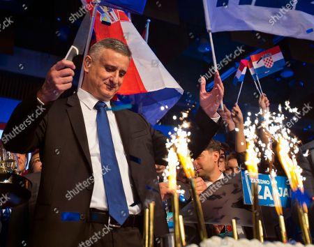 Editorial image of Croatia Elections, Zagreb, Croatia