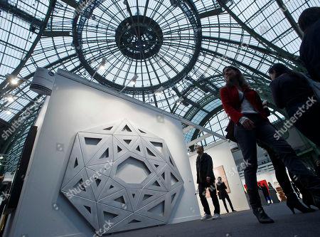 Editorial picture of France Art Fair, Paris, France