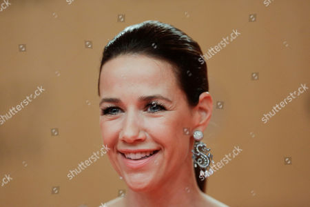 German actress Alexandra Neldel attends the Bambi 2015 media awards in Berlin