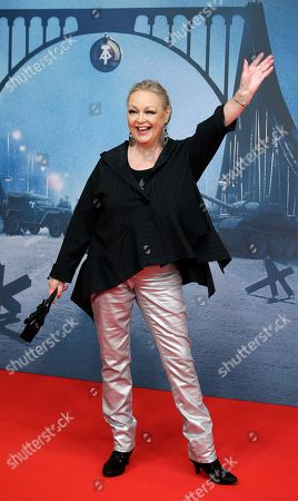 Actress Barbara Schoene arrives for the Europe premiere of the movie 'Bridge of Spies' in Berlin, Germany