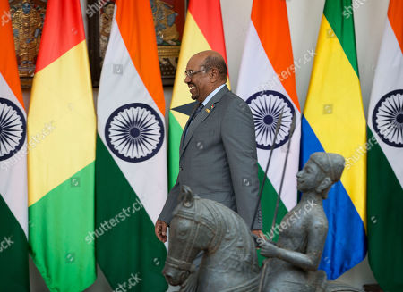 Omar Hassan Ahmad al-Bashir Sudan's President Omar Hassan Ahmad al-Bashir arrives for a bilateral meeting on the sidelines of the India Africa Forum Summit in New Delhi, India, . Prime Minister Narendra Modi on Thursday described India and Africa as bright spots of hope and economic opportunity and offered technology and credit to match rival China at a summit with more than 40 African leaders