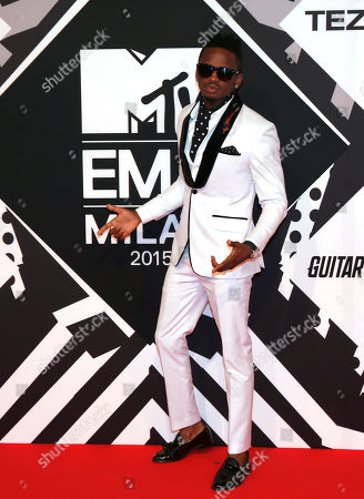 Editorial picture of Italy 2015 MTV EMA Awards Arrivals, Milan, Italy