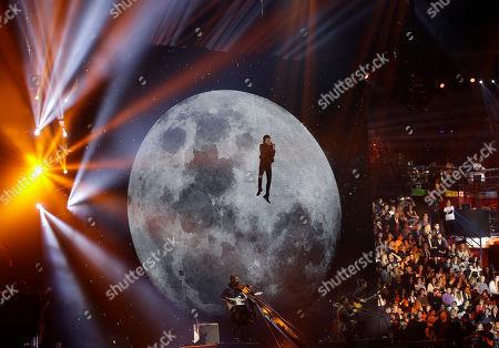 Editorial image of Italy 2015 MTV EMA Awards Show, Milan, Italy