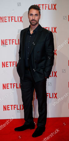 Editorial picture of Italy Netflix, Milan, Italy