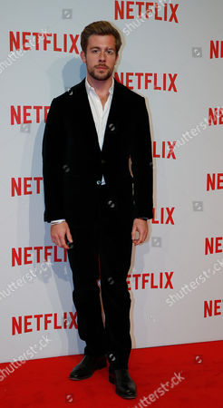 Edoardo Purgatori attends the presentation of Netflix on-demand internet streaming media provider, in Milan, Italy